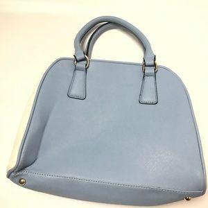 MC Collection Women's Shoulder Bag Solid Blue OS